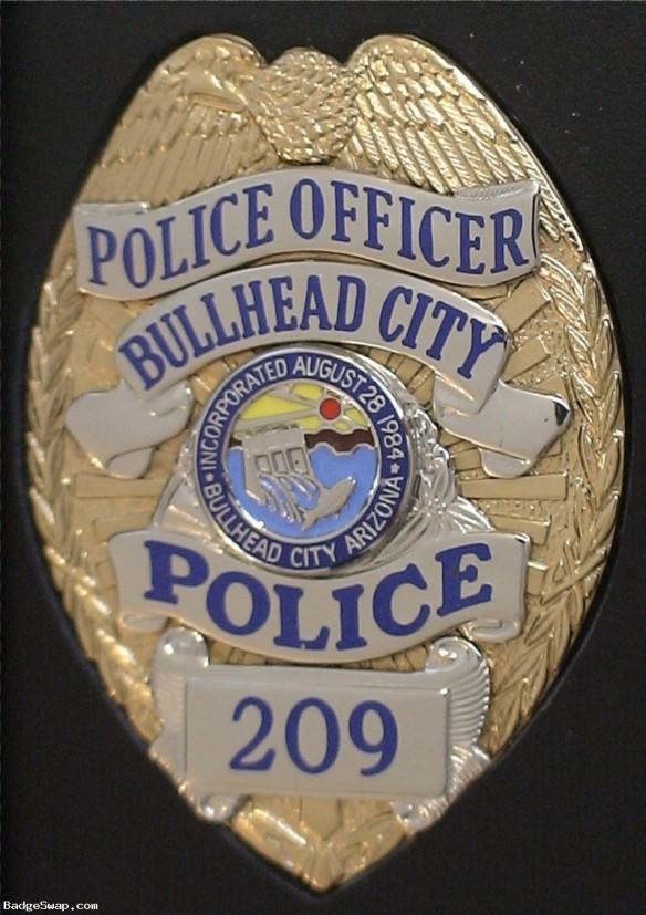 Bullhead Police badge