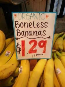banana boneless